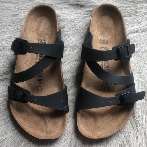 404ea40e8fa2f Birkenstock Shoes | New Black Sandals 38 Regular | Poshmark